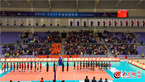 淄博:山东女排淄博主场3:1完胜云南取得新赛季首胜