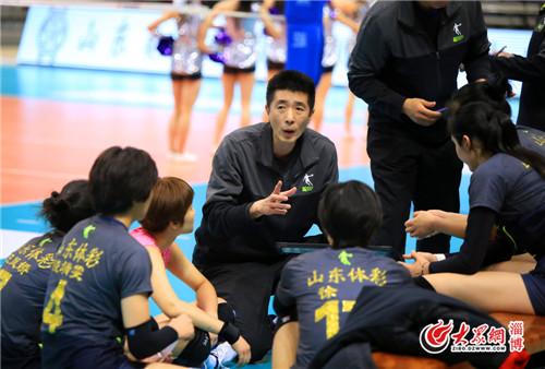 淄博:安家杰:胜利之余要总结不足之处
