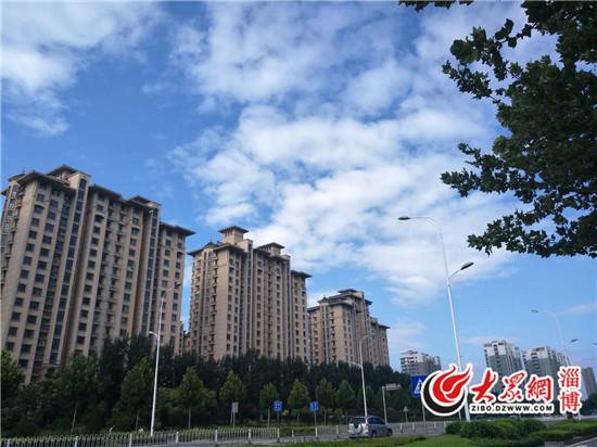 [奇闻]暴雨过后淄博蓝 未来几天最高温33℃
