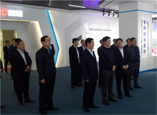 淄博市委书记江敦涛调研重点项目建设工作