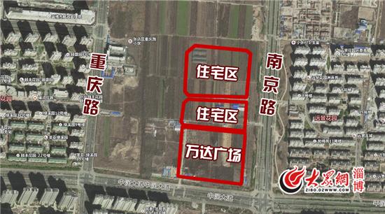 4层购物中心、22栋住宅楼配幼儿园 淄博富力·万达广场建成后是这样